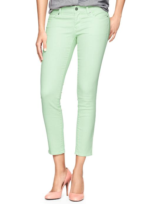 gap skinny mint jeans