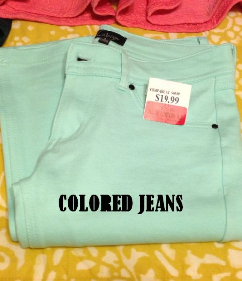 mint jeans at Marshalls on sale for $15 #fabfound