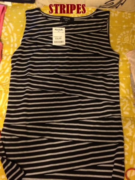 striped tank from Marshalls for $16.99 #fabfound