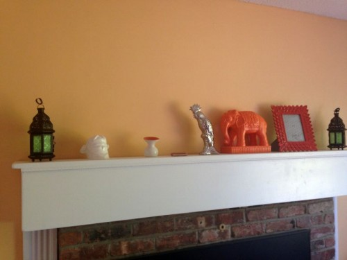 My Living Room Makeover Knick Knacks Home Decor The Fashionable Housewife