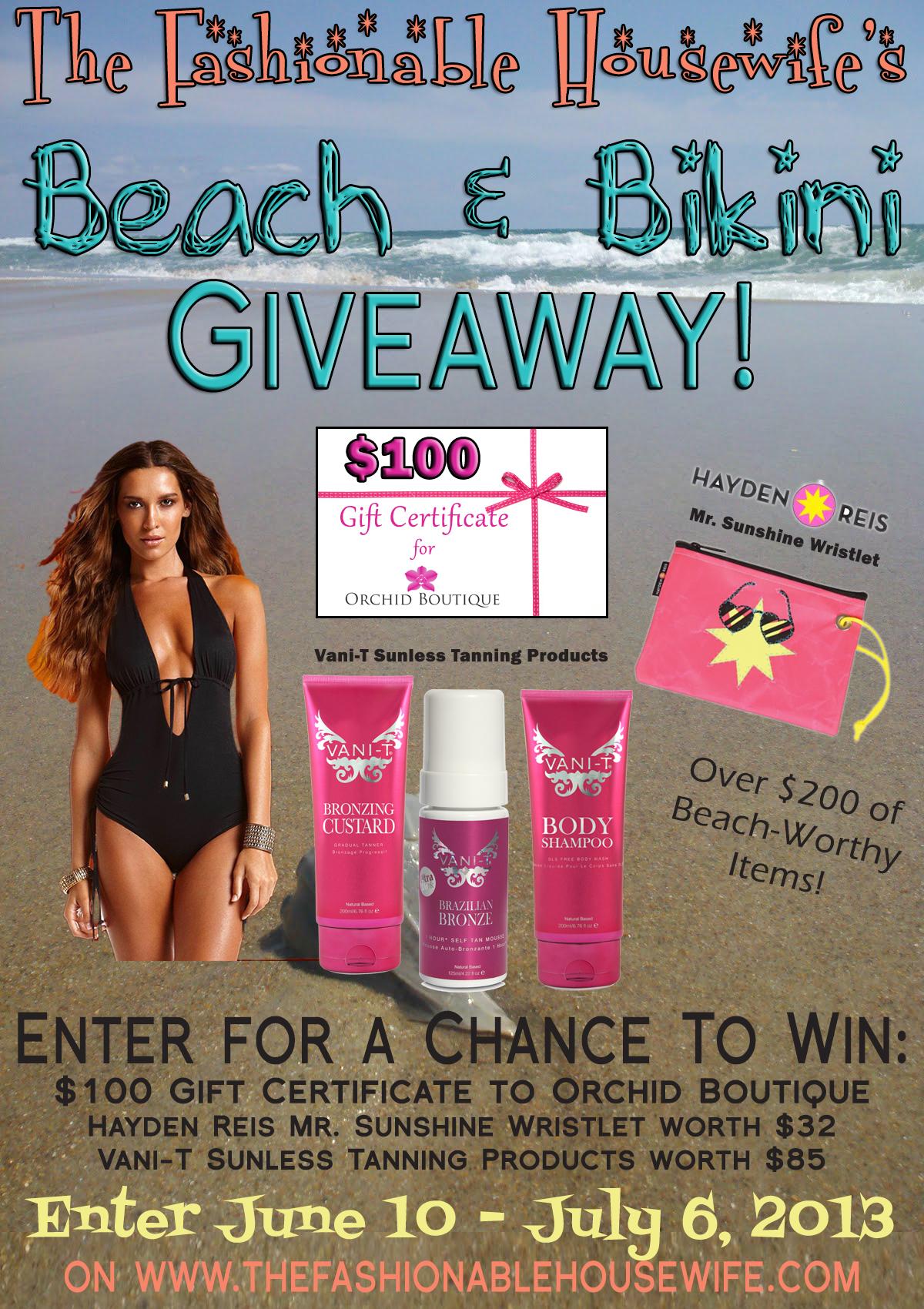 beach and bikini giveaway