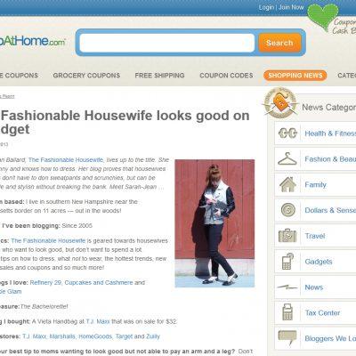 Press: Our Interview on ShopAtHome.com