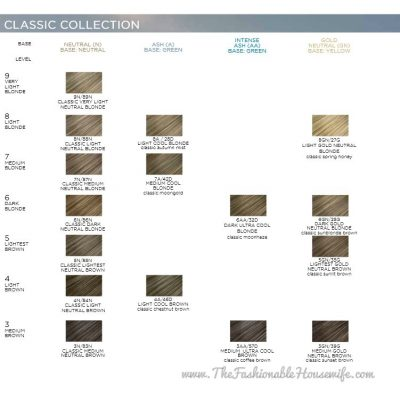 """Color Your Hair At Home with Clairol Professional """"Classic Collection"""""""