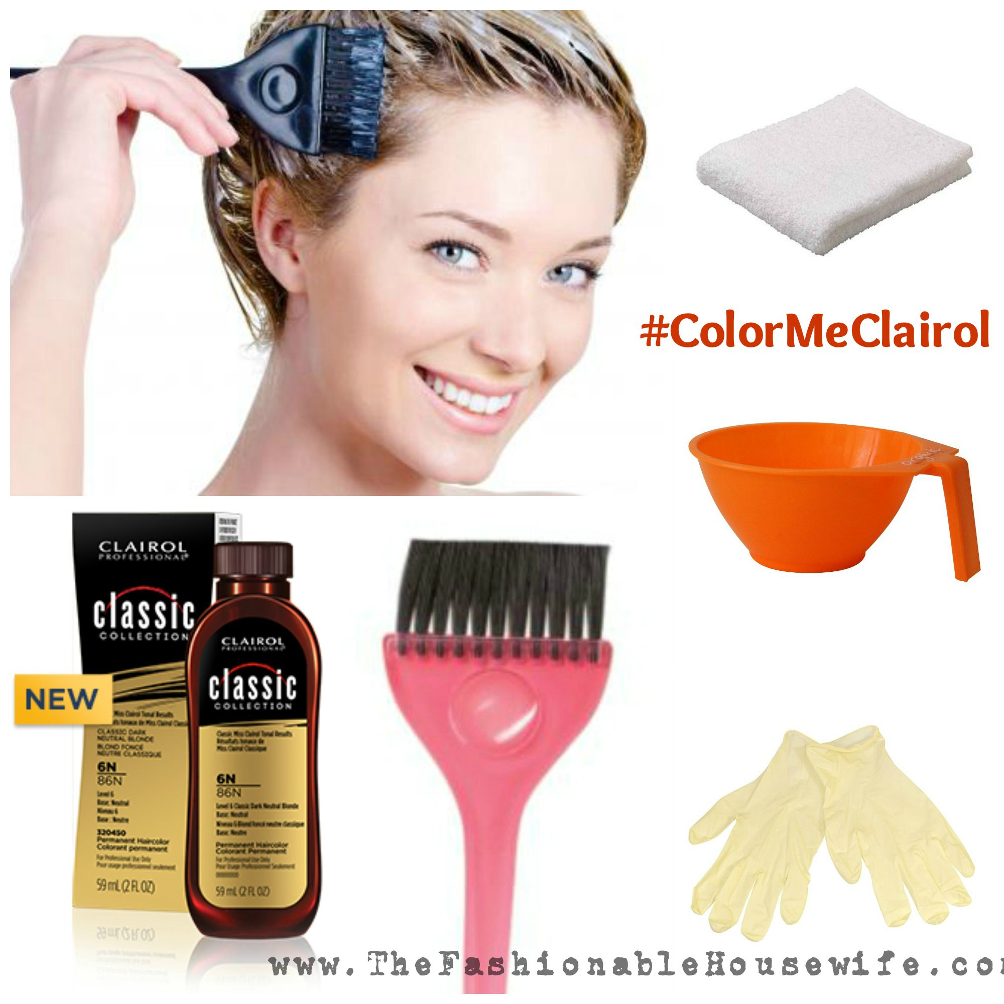 Color Your Hair At Home with Clairol Professional \