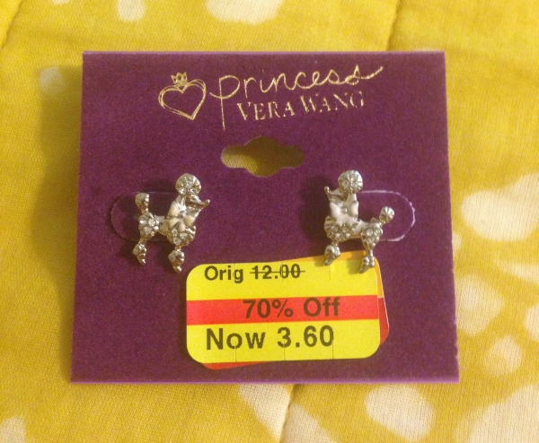 Princess by Vera Wang earrings