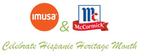 Hispanic Heritage Month Giveaway with McCormick and IMUSA