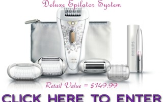 Enter to Win Philips Satin Perfect Epilator for Hair Free Legs!