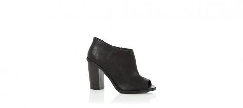 peeptoe shoe boots