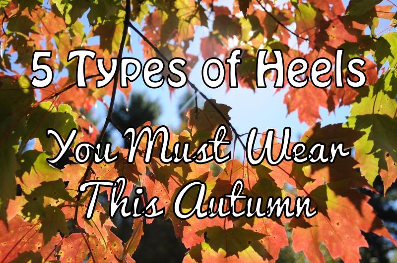 5 types of heels