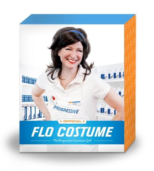 Flo Costume