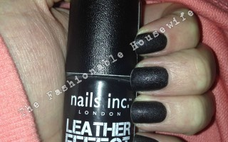 Nail Inc Leather Effect Polish