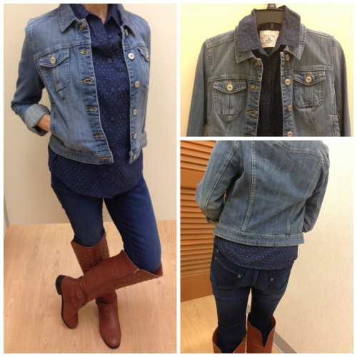 outfit 1 double denim