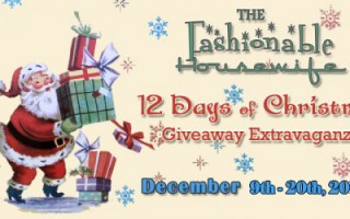 12 Days of Christmas Giveaway Extravaganza!