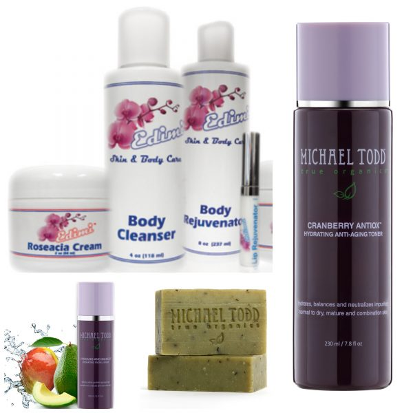 Day 2 Giveaway – SIX Skincare Products from Edimi & Michael Todd True Organics