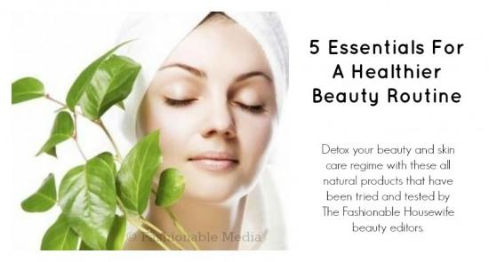 healthier beauty routine
