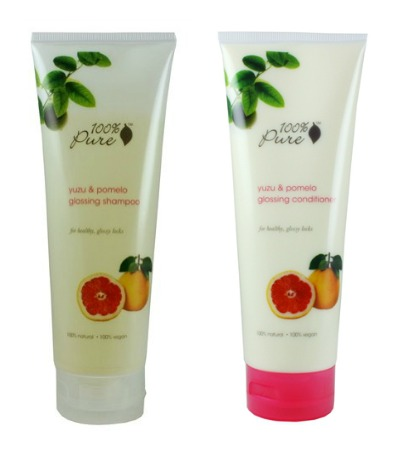 100% pure shampoo and conditioner