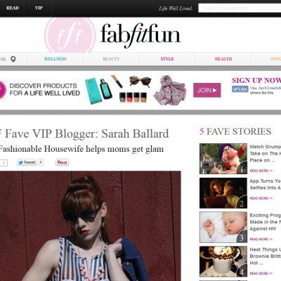 We are a FabFitFun VIP Blogger!