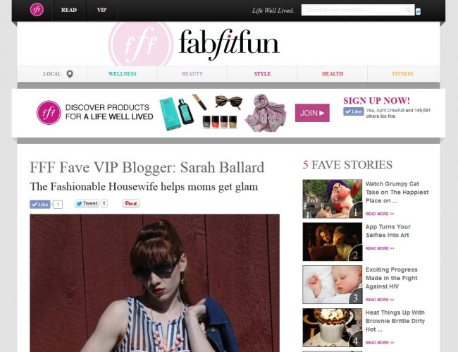 We are a FabFitFun VIP Blogger!