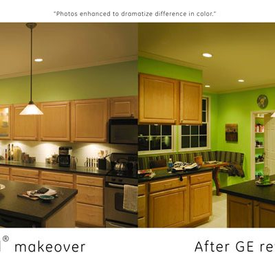 Makeover Any Room with GE Reveal Light Bulbs