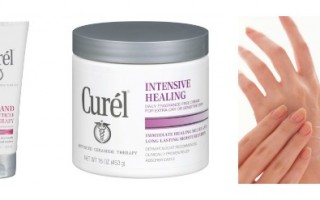 curel heals hands