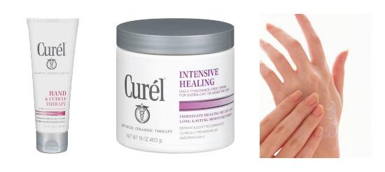 curel heals hands