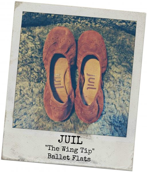 juil the wing tip flats