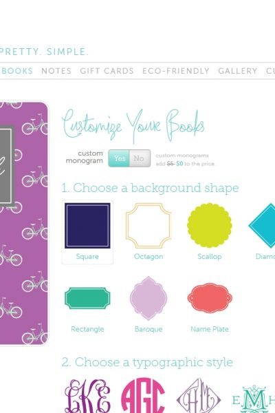 May Designs FREE Monogram Gifts till March 23rd!