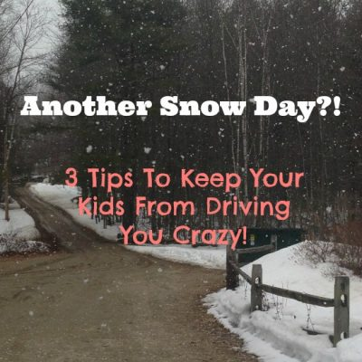 Another Snow Day: How to Keep Your Kids From Driving You Crazy