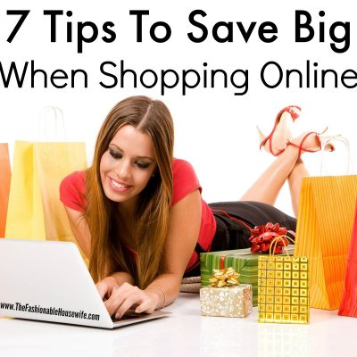 Tips For Shopping Online And How To Save Big