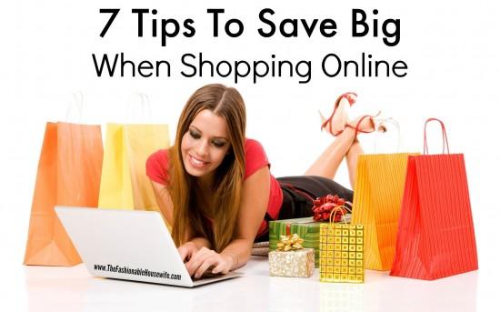 7 Tips for Shopping Online