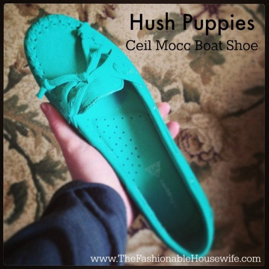 Hush Puppies Ceil Mocc Boat Shoe