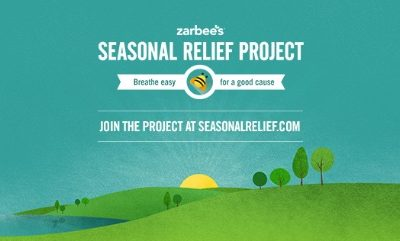 Zarbee's Naturals' Seasonal Relief Promotes Easy Breathing