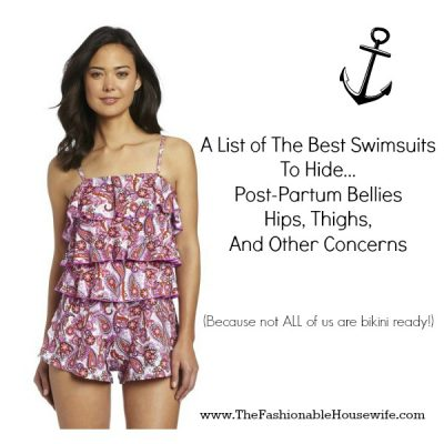 List of The Best Swimsuits To Hide Post-Partum Bellies