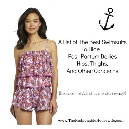 0f68fc01ffd List of The Best Swimsuits To Hide Post-Partum Bellies - The ...