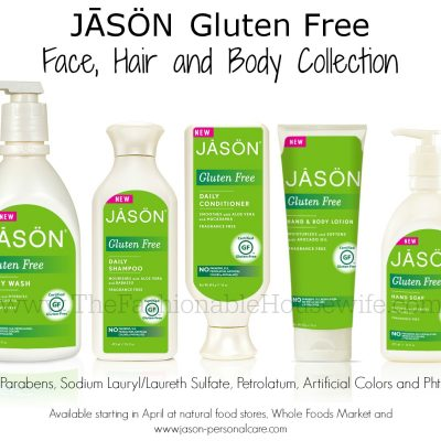 NEW Gluten Free Face, Hair and Body Collection from JASÖN®