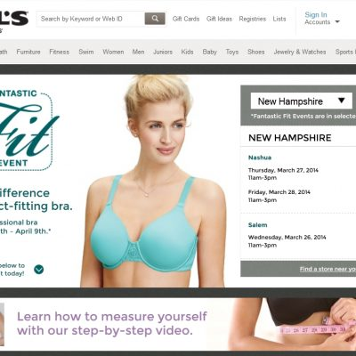 Head To Kohl's Fantastic Fit Event for Free Bra Fitting!