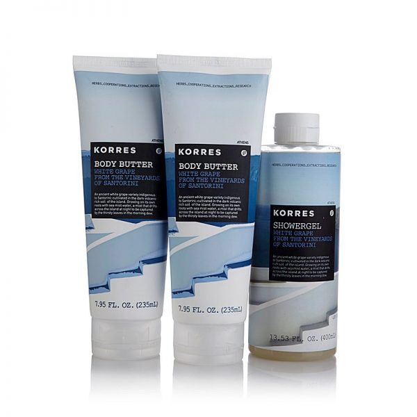 KORRES New 'White Grape from the Vineyards of Santorini' Collection
