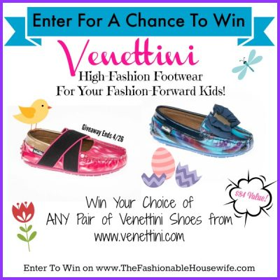 Enter To Win ANY Pair of Venettini Shoes worth $84!