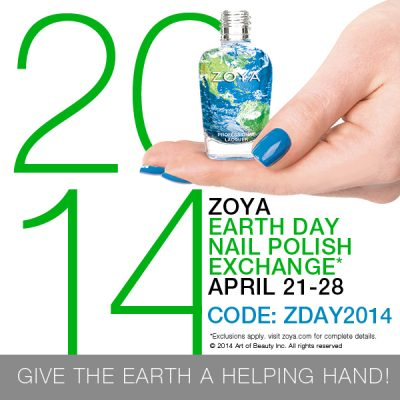ZOYA'S EARTH DAY Nail Polish Exchange!