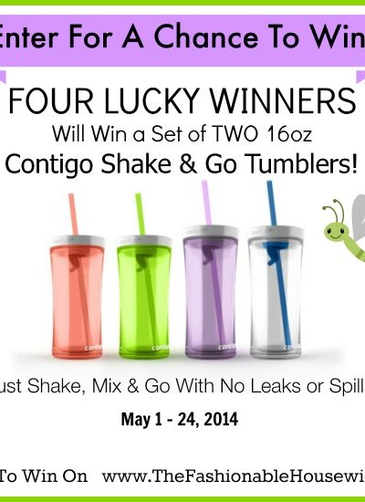 contigo shake and go giveaway