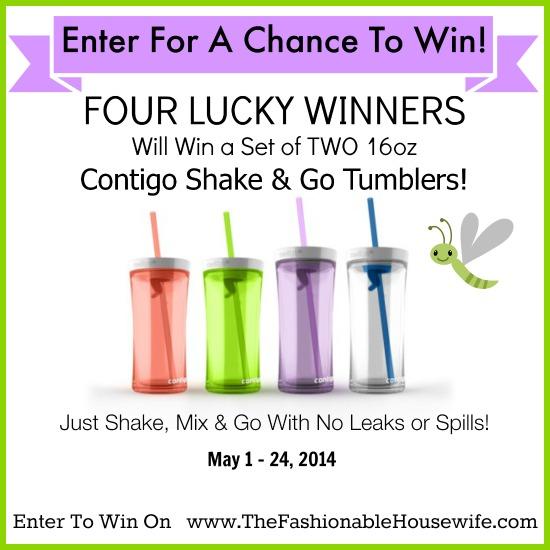 Contigo Shake & Go Tumbler / Review & Giveaway