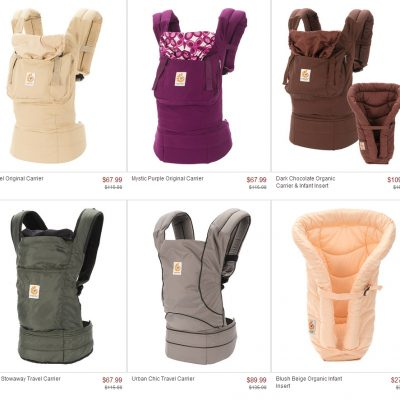 Right Now: Ergo Baby Carrier Sale on Zulily!