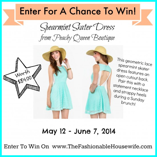 peachy queen skater dress giveaway