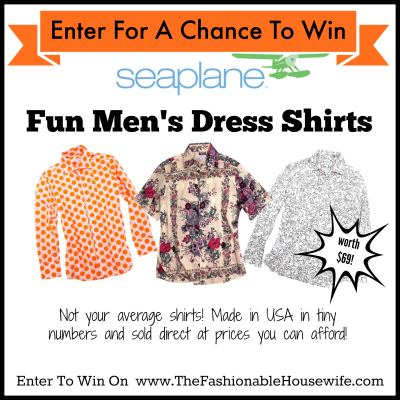 Enter To Win A SEAPLANE Men's Shirt for Father's Day