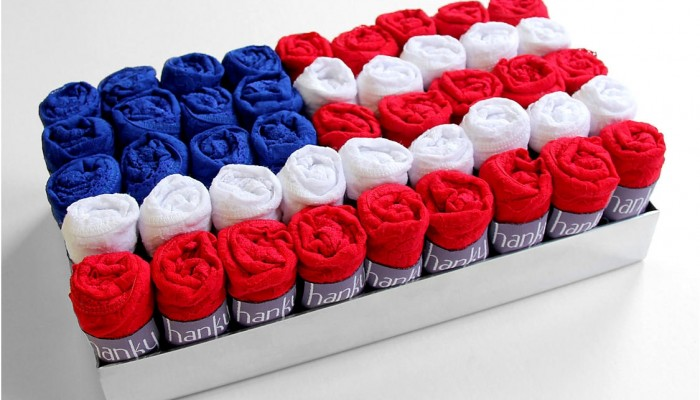 Celebrate 4th of July with Red, White & Blue!