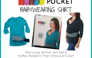 Enter To Win A NüRoo Pocket Babywearing Shirt worth $60!