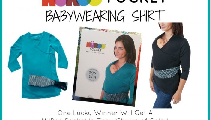 NuRoo Pocket Babywearing Shirt Giveaway