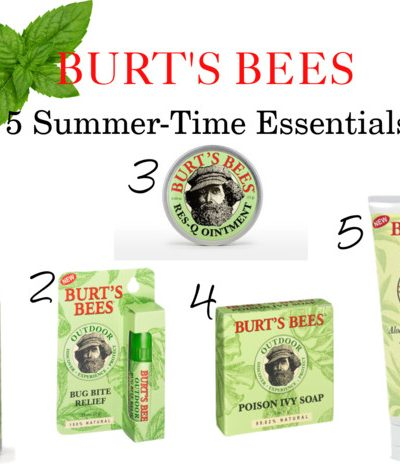Burt's Bees 5 Summer-Time Essentials