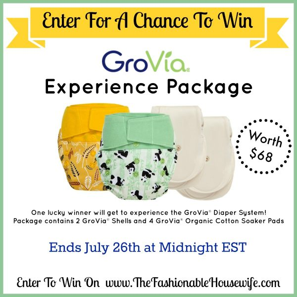 Enter To Win a GroVia Cloth Diaper Experience Package worth $68!