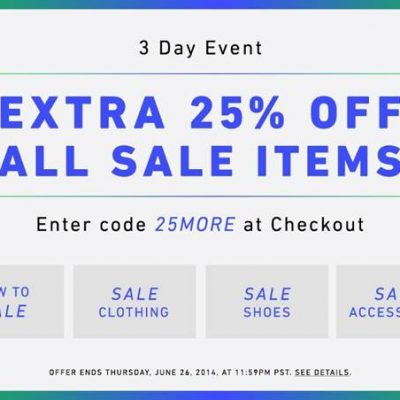 3 Day Sale at East Dane & Shopbop!